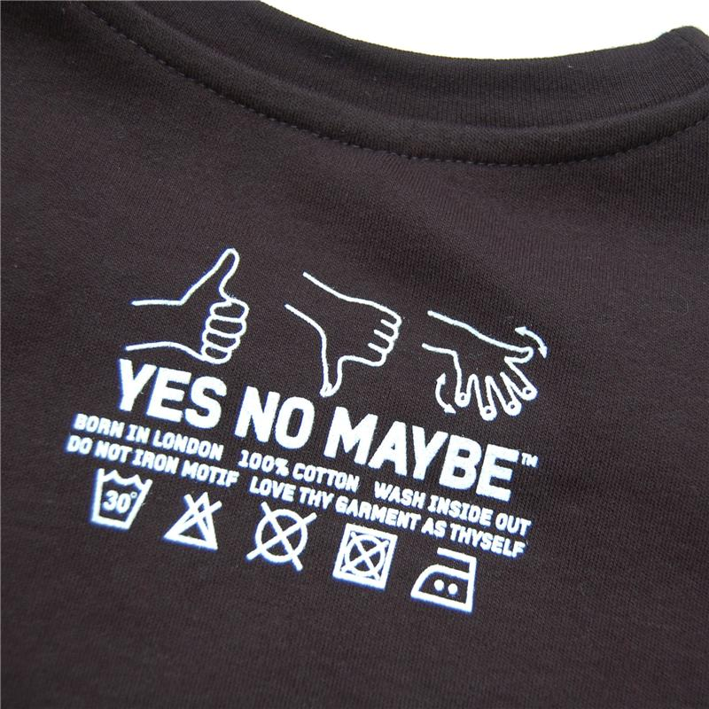 Yes-No-Maybe-Womens-Leggy-T-Shirt-White-on-Black-back-800x800