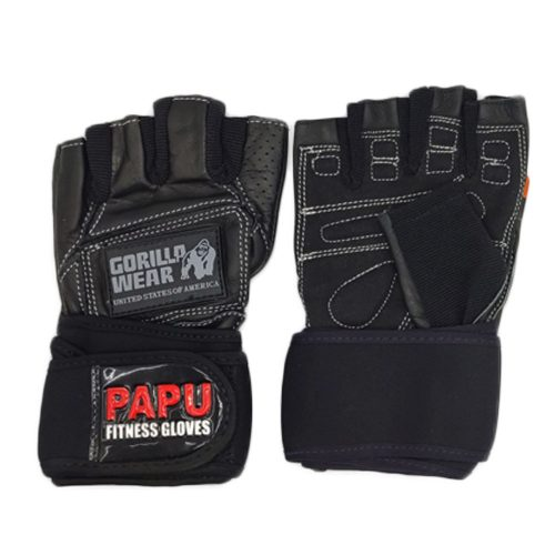 دستکش بدنسازی چرمی مدل PAPU GORILLA