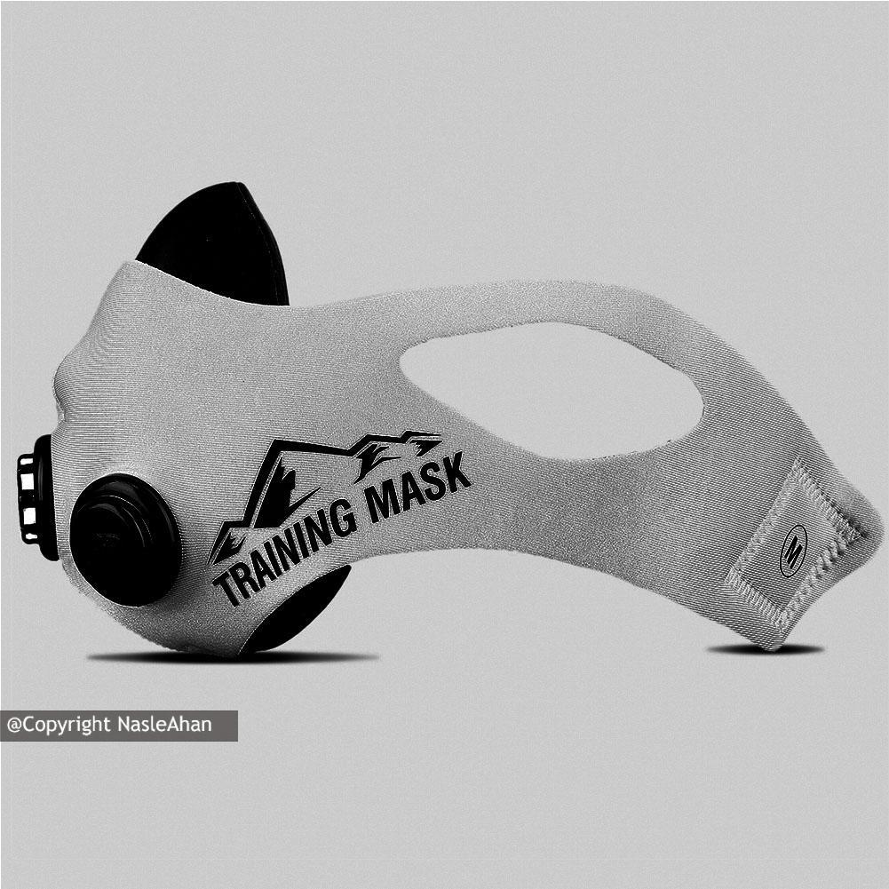 ماسک تمرین سه فیلتر مدل Training Mask 2.0