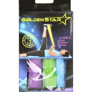 کش پيلاتس Golden Star بسته 3 عددی