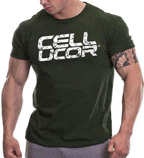 تیشرت سبز Cellucor