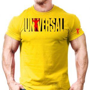 تیشرت زرد Universal