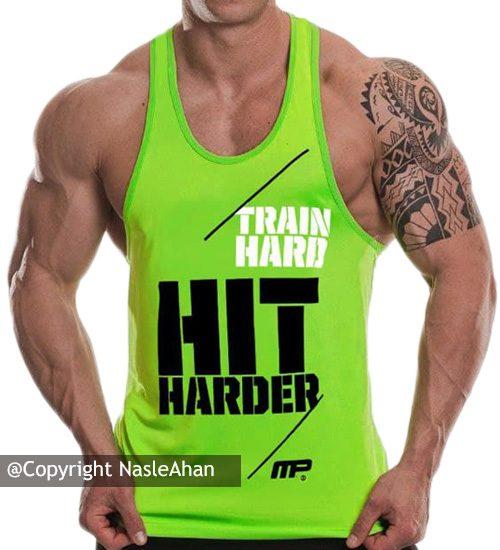 رکابی سبز MP مدل Train Hard