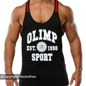 رکابی مشکی Olimp Sports