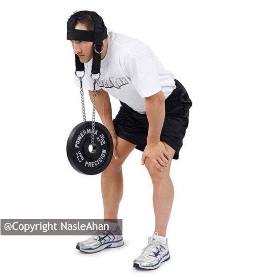 تسمه تمرین عضلات گردن