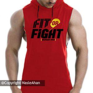 کاور قرمز Fit or Fight