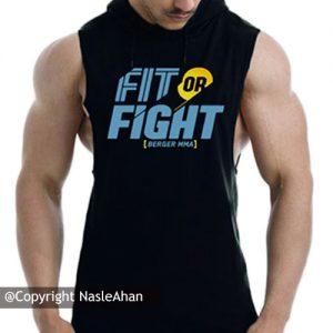 کاور سرمه ای Fit or Fight