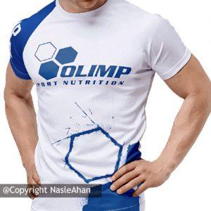 تیشرت سفید Olimp Sport