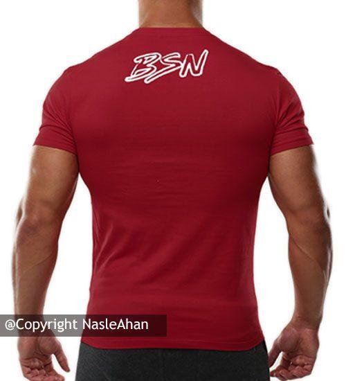 تیشرت قرمز ®BSN
