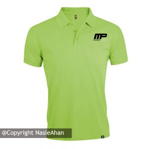 پولوشرت سبز مدل MP MusclePharm