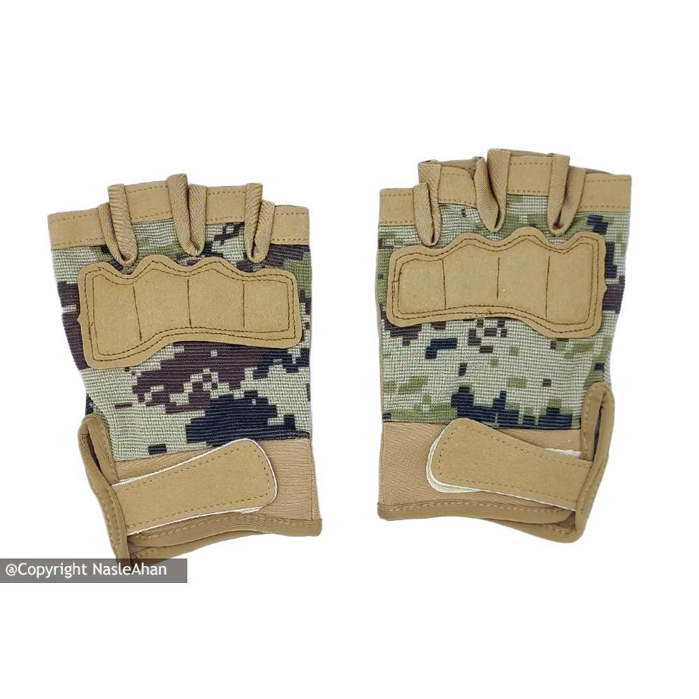 دستکش بدنسازی مدل Hit-Army