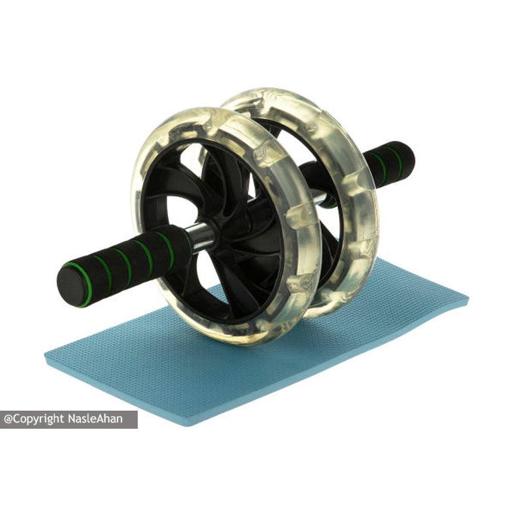 چرخ تمرین شکم دوبل مدل TAMAX