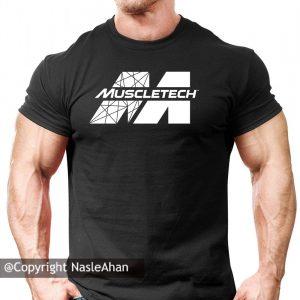 تیشرت مشکی MuscleTech