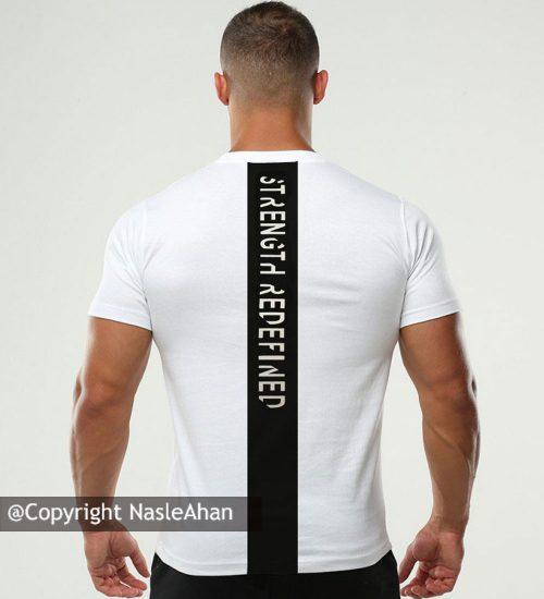 تیشرت سفید MuscleTech